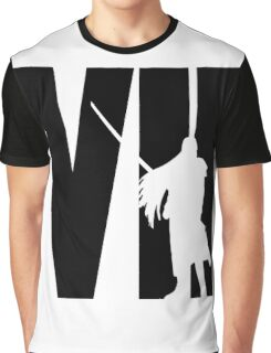 FF7 - Sephiroth - Black Graphic T-Shirt