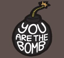 You are the Bomb! One Piece - Short Sleeve
