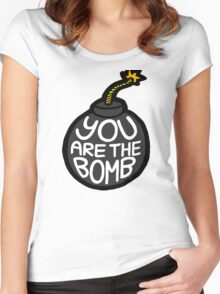 You are the Bomb! Women's Fitted Scoop T-Shirt