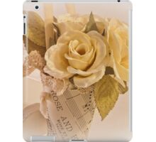 Roses And Butterfly Posy  iPad Case/Skin