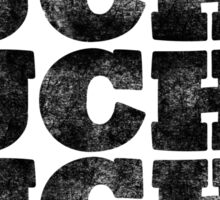 Lucha Lucha Lucha - Black Sticker