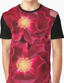 Floral Ink Graphic T-Shirt