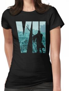 FF7 - Sephiroth - Color Womens Fitted T-Shirt