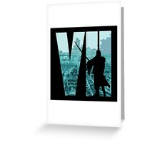 FF7 - Sephiroth - Color Greeting Card