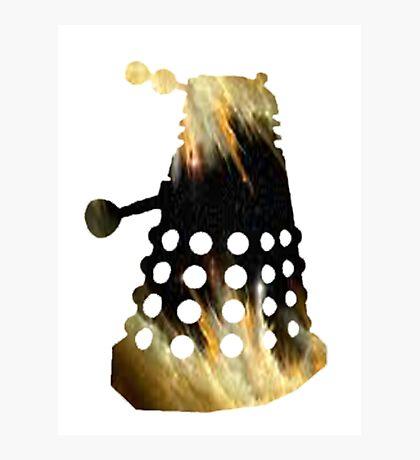 Galaxy Dalek Photographic Print