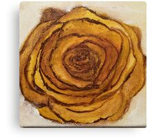 Golden Blossom Canvas Print