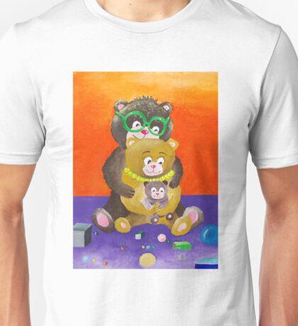 Teddy bear family Unisex T-Shirt