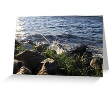 Incoming Tide  Greeting Card