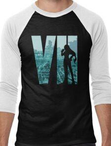 FF7 - Tifa - Color Men's Baseball ¾ T-Shirt