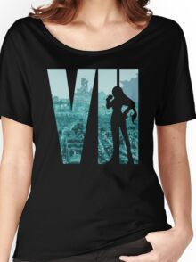 FF7 - Tifa - Color Women's Relaxed Fit T-Shirt