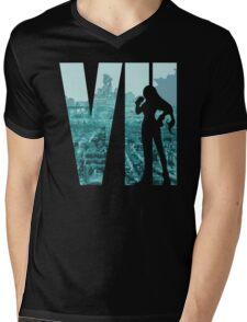 FF7 - Tifa - Color Mens V-Neck T-Shirt