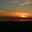 Adalar da günbatımı by rasim1