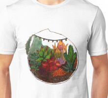 Hand Drawn Terrarium  Unisex T-Shirt