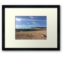 Seaweed and Sandcastles Framed Print