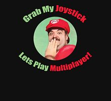 SexyMario - Grab My Joystick Graphic Unisex T-Shirt
