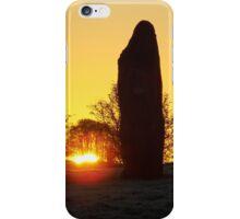 Avebury Avenue Sunrise (2) iPhone Case/Skin