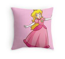 Princess Peach! Throw Pillow