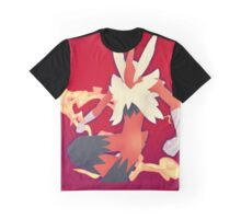 Mega Blaziken Graphic T-Shirt