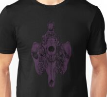 4D Coyote (Black and Purple) Unisex T-Shirt