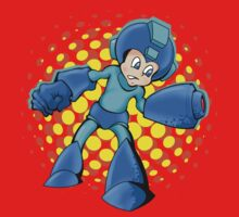 Mega Man In A Mega Jam Kids Tee