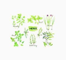 Watercolor Herb Collection Unisex T-Shirt