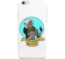 Dragon Age Adverbial Approval - Fenris iPhone Case/Skin