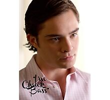 """I'm Chuck Bass"" - Gossip Girl Photographic Print"