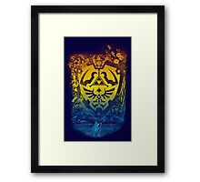 garden of wisdom Framed Print