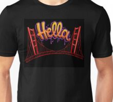 Hella - SF [Black] Unisex T-Shirt