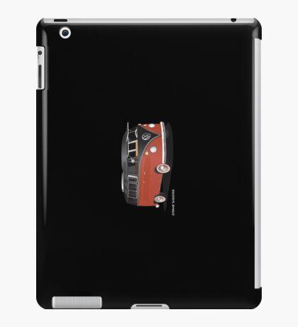 21 Window VW Bus Red Black iPad Case/Skin