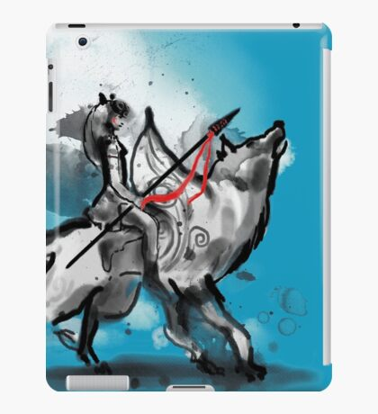 princess monokami iPad Case/Skin