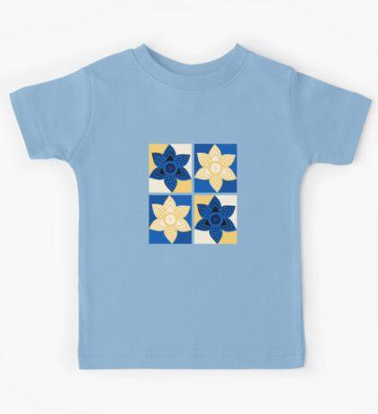 Daffodils pattern Kids Tee