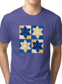 Daffodils pattern Tri-blend T-Shirt
