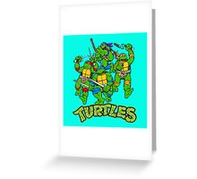 Ninja turtles Greeting Card