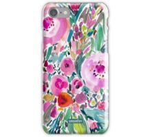 PINK POW WOW FLORAL iPhone Case/Skin