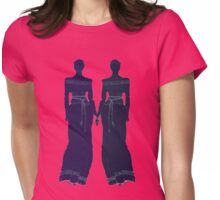 GREEK GODDESS and friend Womens Fitted T-Shirt