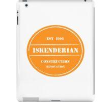 Iskendarian Construction iPad Case/Skin