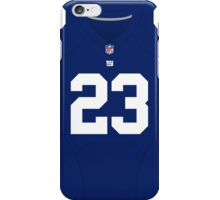New York Giants Rashad Jennings Color Jersey iPhone Case/Skin