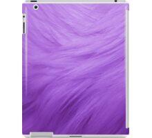 Purple Fur Texture iPad Case/Skin