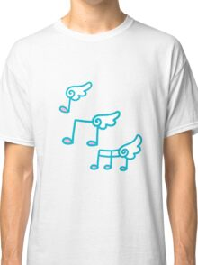 Angel Wings Musical Notes Classic T-Shirt