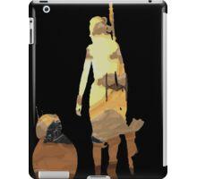 STAR WARS VII- BB8 and Rey iPad Case/Skin