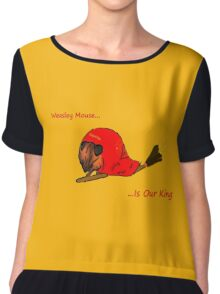 Weasley Mouse Chiffon Top