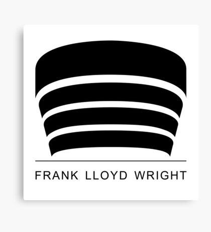Frank Lloyd Wright Logo Canvas Print