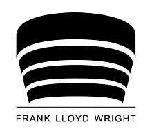 Frank Lloyd Wright Logo Photographic Print