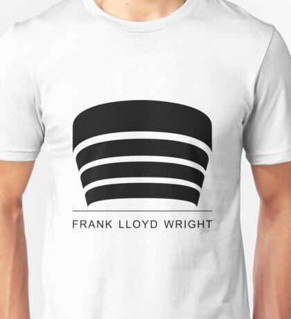 Frank Lloyd Wright Logo Unisex T-Shirt