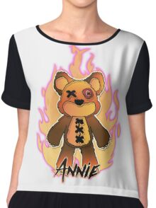 Annie Tibbers Chiffon Top