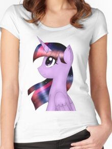 My Little Pony Twilight Sparkle Women's Fitted Scoop T-Shirt