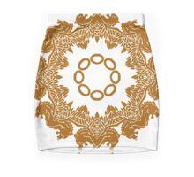 Golden Mandala Mini Skirt