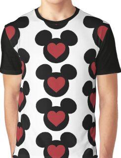 Love Mickey Graphic T-Shirt