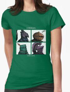 Lordran Dark Days Womens Fitted T-Shirt